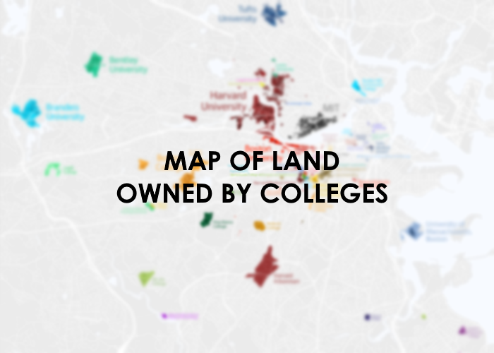 map of boston colleges This Map Of Land Owned By Universities Up To Boston News From Utb map of boston colleges